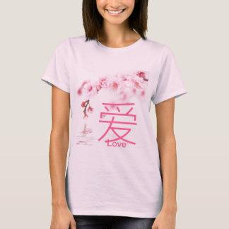 cherry blossom pink sakura bridal shower T-Shirt