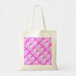 Cherry blossom pink sakura budget tote bag