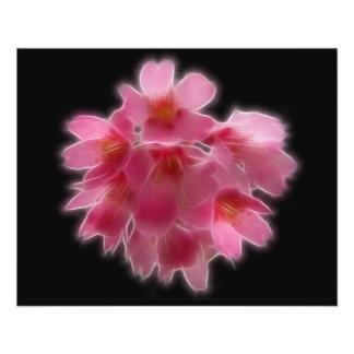 Cherry Blossom Pink Tree Flower Flyer