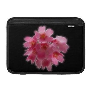 Cherry Blossom Pink Tree Flower MacBook Sleeves