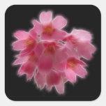 Cherry Blossom Pink Tree Flower Sticker