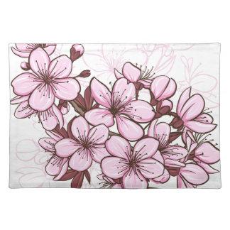 Cherry blossom place mats