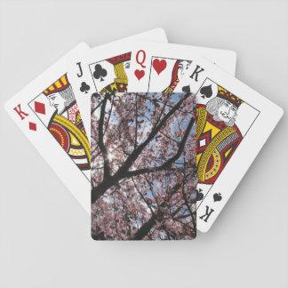 """Cherry Blossom"" Playing Cards, Standard Index Card Decks"
