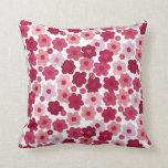 cherry blossom pop throw pillows
