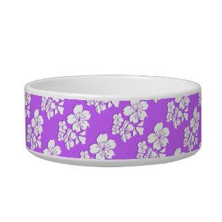 Cherry blossom purple flower pets pet bowls