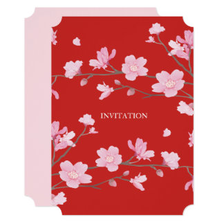 Cherry Blossom - Red Card