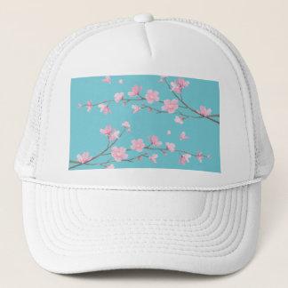 Cherry Blossom - Robin egg blue Trucker Hat