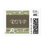 Cherry Blossom RSVP Postage Stamp