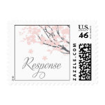 Cherry Blossom rsvp response Postage