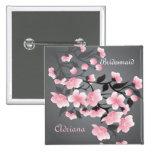 Cherry blossom (Sakura) Bridesmaid Pin