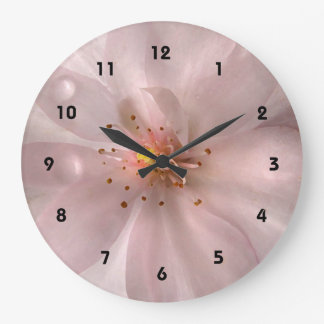 Cherry Blossom Sakura Flower Clock