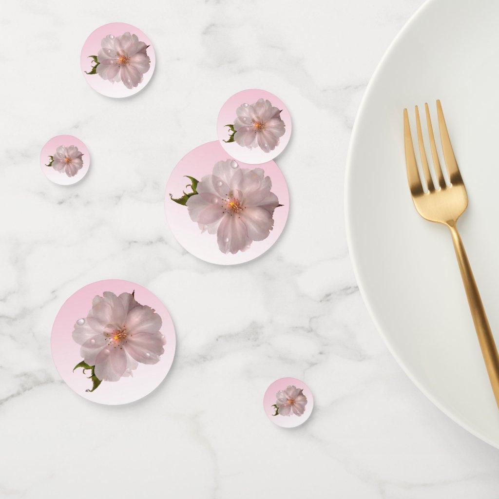 Cherry Blossom Sakura Flower Floral Table Confetti