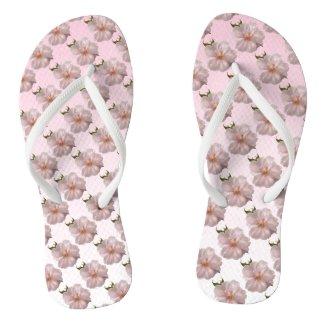 Cherry Blossom Sakura Flowers Flip Flops