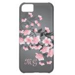 Cherry blossom (Sakura) Monogram iPhone 5C Cover