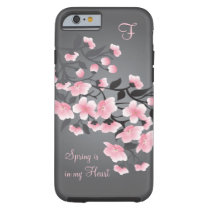 Cherry blossom (Sakura) Monogram Tough iPhone 6 Case