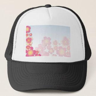 Cherry Blossom Sakura Trucker Hat