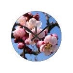 Cherry Blossom Sakura Wall Clocks