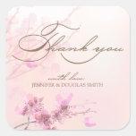 Cherry Blossom/Sakura Wedding Thank You Stickers