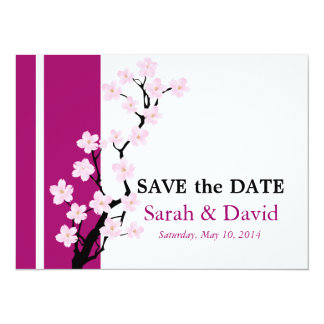 Cherry Blossom | Save the Date Card