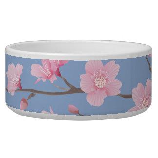 Cherry Blossom - Serenity Blue Bowl