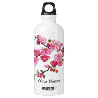 "CHERRY BLOSSOM ""SIGG"" .6L TRAVELLER WATER BOTTLE"