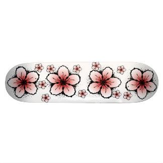 Cherry Blossom Skateboard
