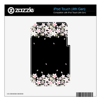 Cherry Blossom iPod Touch 4G Decal