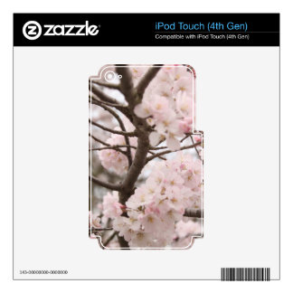 Cherry Blossom Skin For iPod Touch 4G