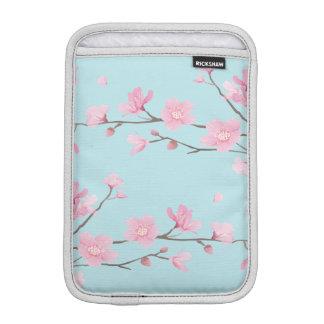 Cherry Blossom - Sky Blue Sleeve For iPad Mini