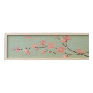 Cherry Blossom - Sky Blue Wooden Keepsake Box