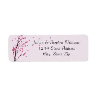 Cherry Blossom Stem - Address Labels