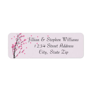 Cherry Blossom Stem - Address Labels
