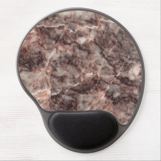 Cherry Blossom Stone Pattern Background Gel Mouse Pad