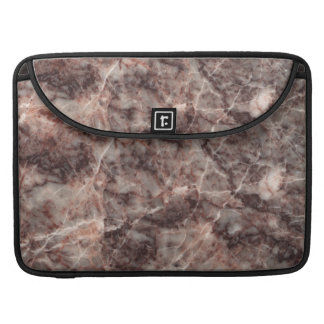 Cherry Blossom Stone Pattern Background Sleeve For MacBook Pro
