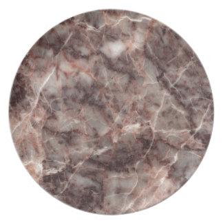 Cherry Blossom Stone Pattern Background - Stunning Melamine Plate