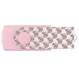 Cherry Blossom Swivel USB 2.0 Flash Drive