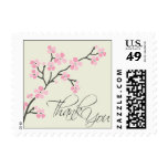 Cherry Blossom Thank You Wedding Stamp 2 :: pink