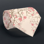 """Cherry Blossom Tie<br><div class=""""desc"""">Pretty Cherry Blossom design by LeahG created for home furnishings and personal accessories. It is a pretty simple seamless design and appears on pillows,  blankets,  tablecloth,  lamp and more. www.roomdesignchic.com</div>"""