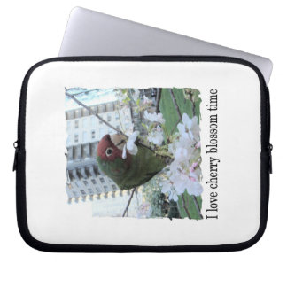Cherry Blossom Time Laptop Sleeve