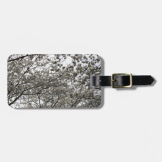 Cherry Blossom Travel Bag Tags