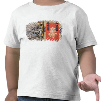 Cherry blossom tree and silk tapestry of t shirts
