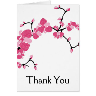 Cherry Blossom Tree Branch Customizable Card 2