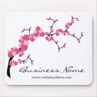 Cherry Blossom Tree Branch Customizable Mousepad