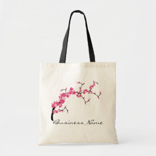 Cherry Blossom Tree Branch Customizable Tote Bag