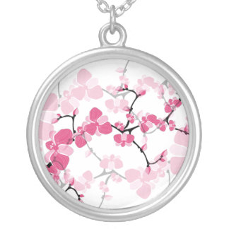 Cherry Blossom Tree Branch Necklace