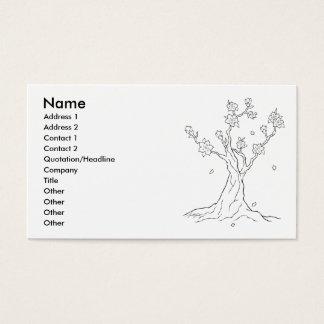 Cherry Blossom Tree Business Card