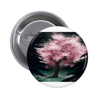 Cherry Blossom Tree Buttons