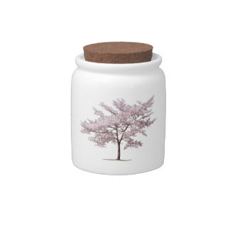 Cherry Blossom Tree Candy Jar
