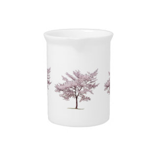 Cherry Blossom Tree Drink Pitcher