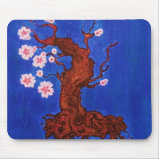 Cherry Blossom Tree Mouse Pad